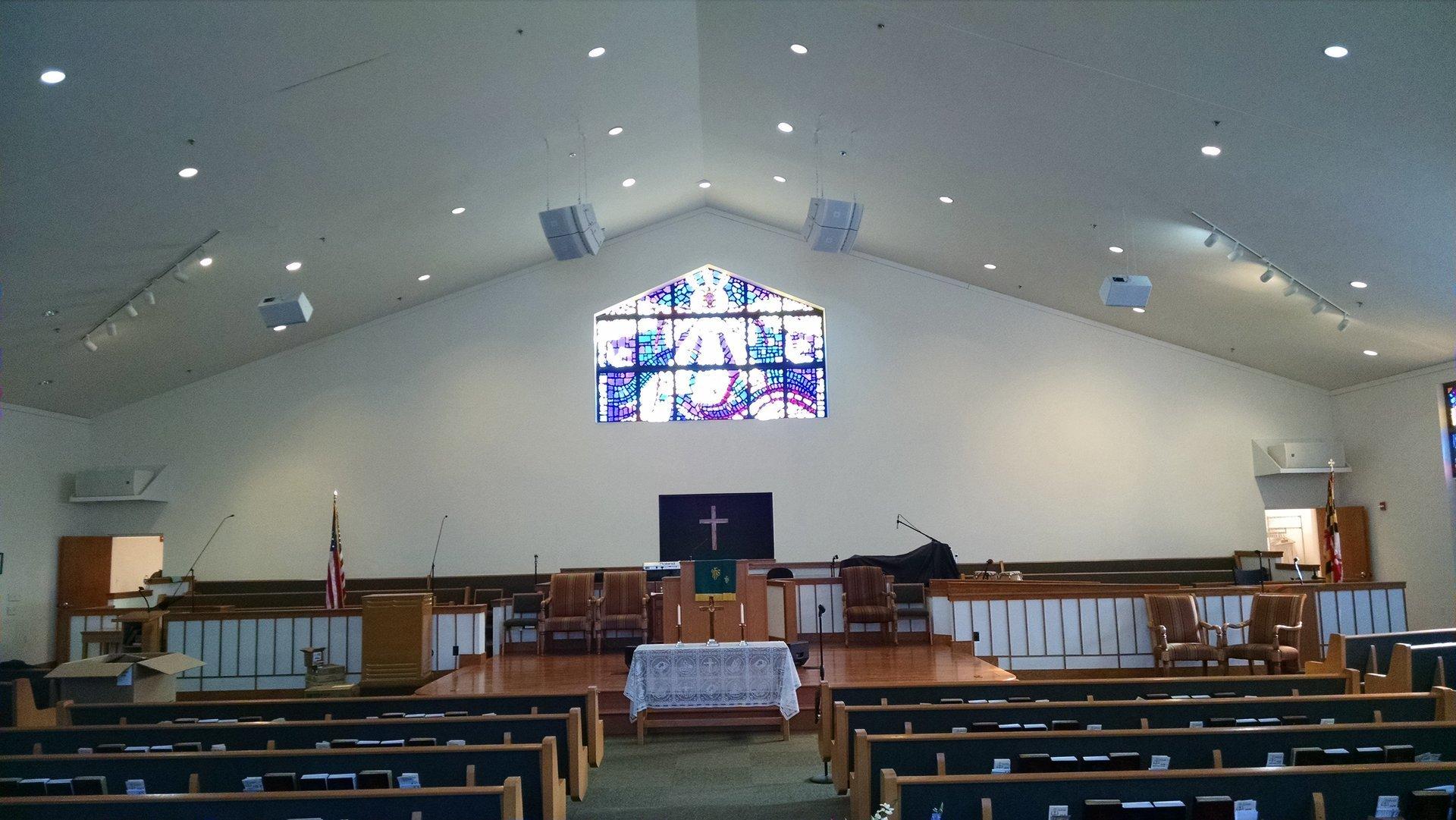 church hall sound systems