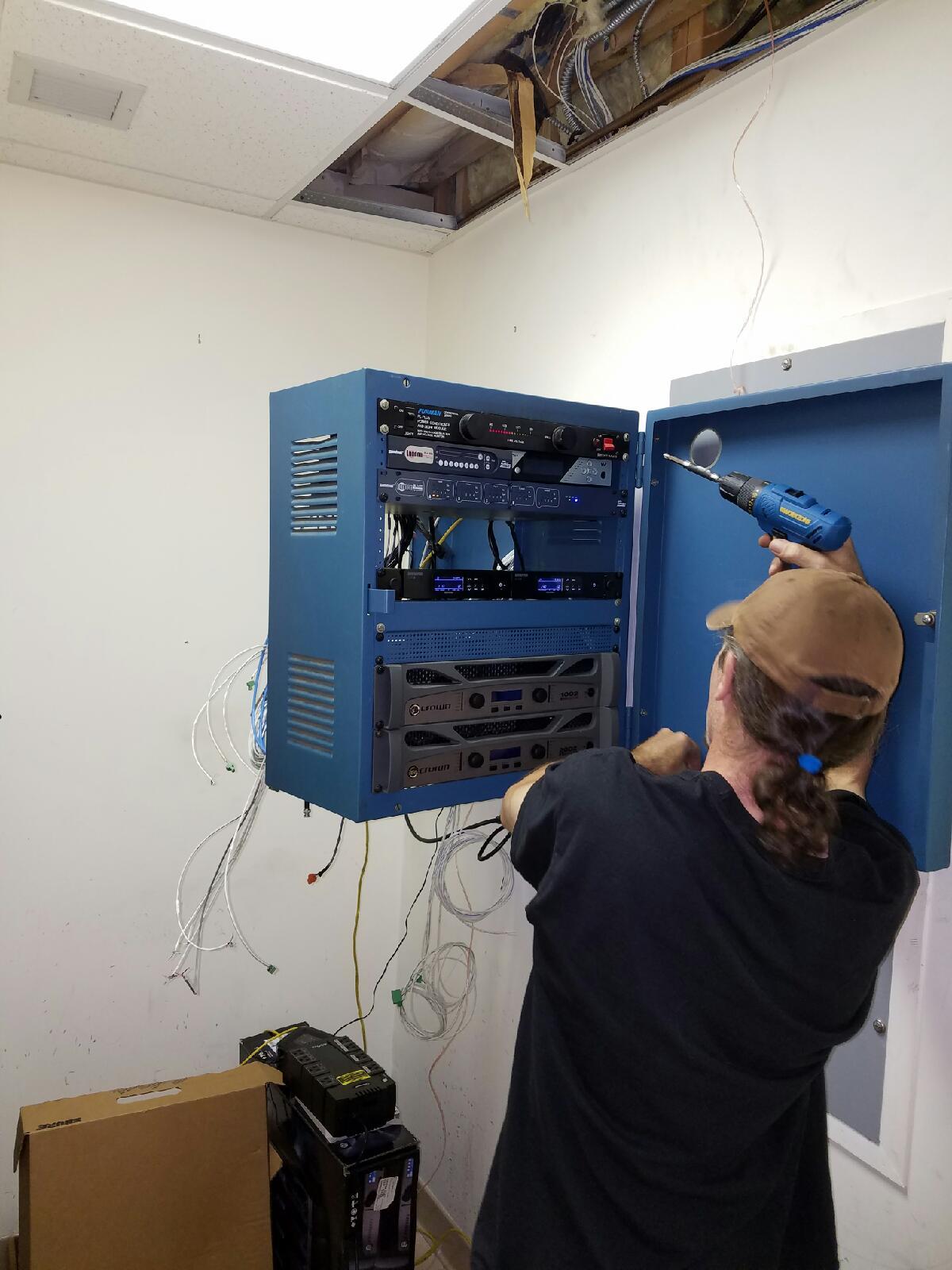 installation work