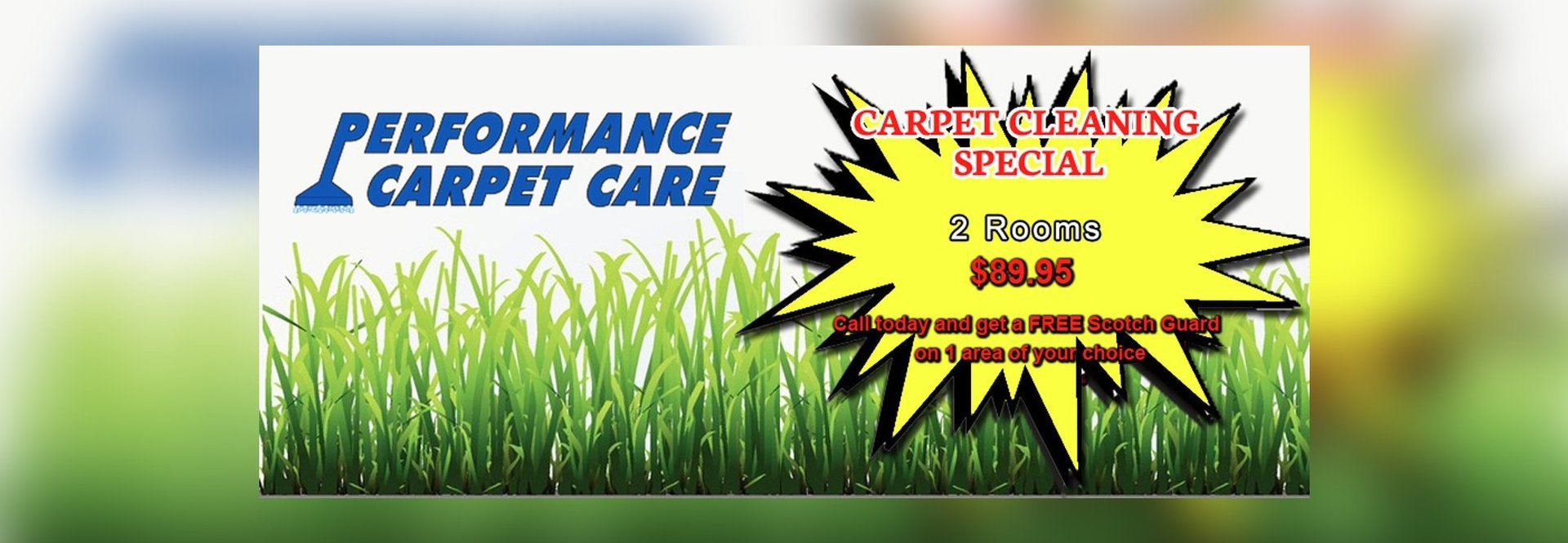Offer for Carpet Cleaning