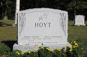 Custom grave marker designs | Bristol, CT | England Family Monument Co | 860-583-5309