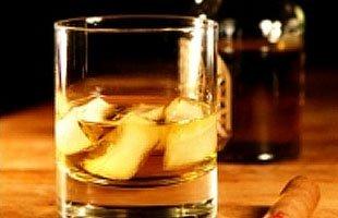Ice cold liquor