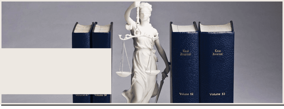 Book of justice with lady justice