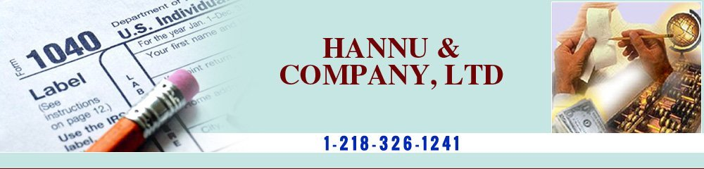 Accounting Grand Rapids, MN - Hannu & Company, Ltd