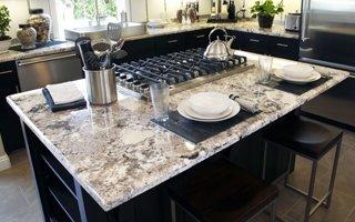 Granite On Kitchen Countertop