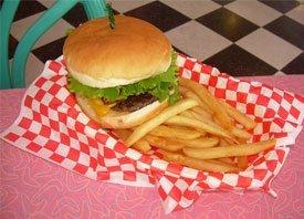 Nifty Fiftys Soda Fountain Burger photo
