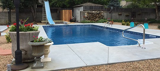 Pool additions