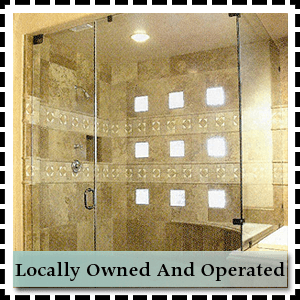 Glass repair - Pittsburgh, PA - Steel City Glass - shower glass - Locally Owned And Operated