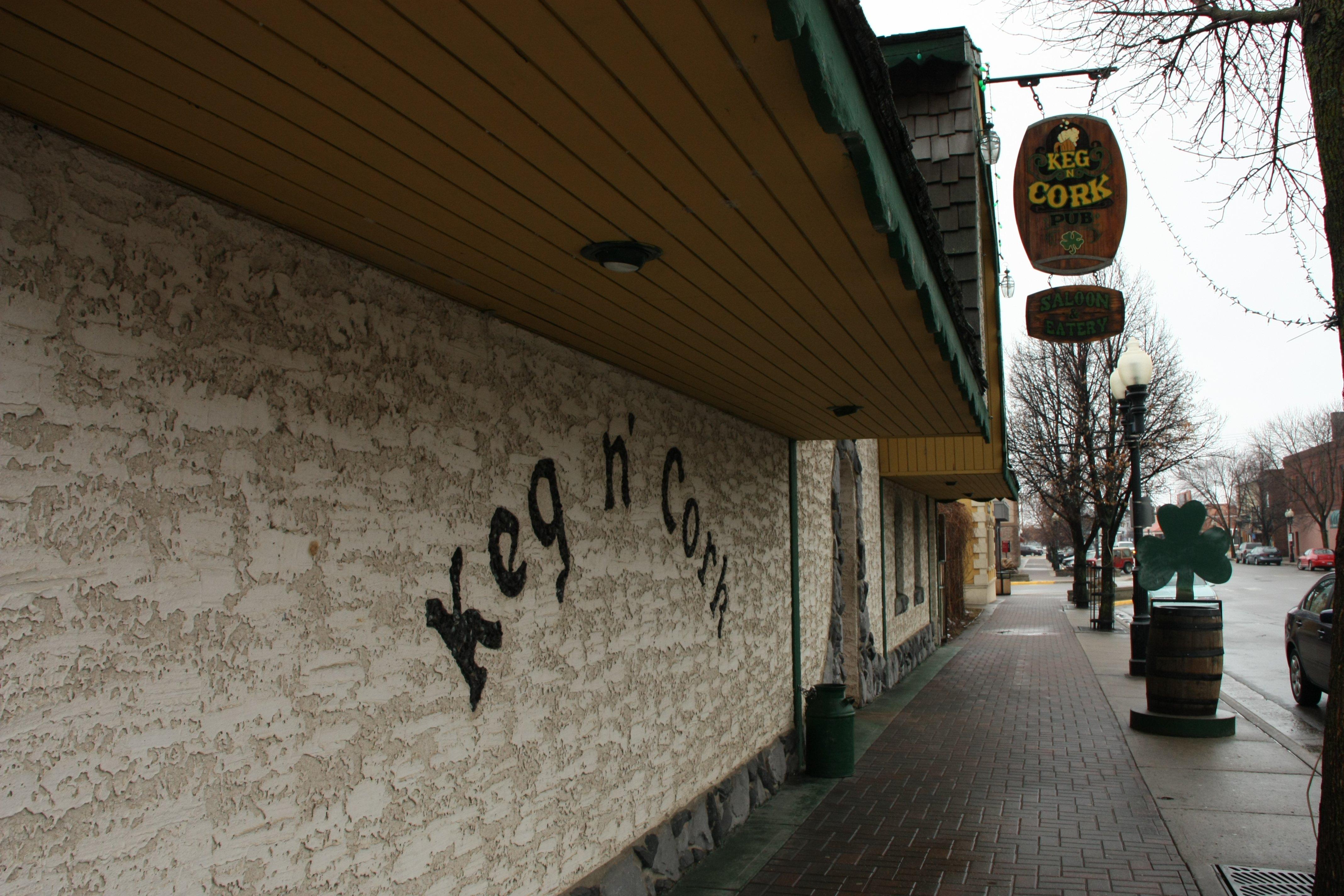 Keg n' Cork Store front
