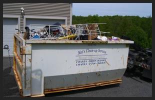 Dumpster | Walden, NY | Nat's Clean-Up Service | 845-800-8203