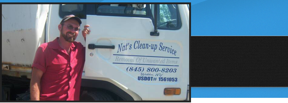 Junk removal   Walden, NY   Nat's Clean-Up Service   845-800-8203
