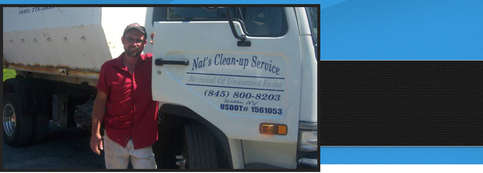 Trash removal | Walden, NY | Nat's Clean-Up Service | 845-800-8203