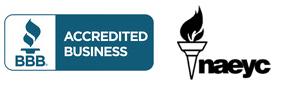 BBB, NAEYC Logo