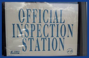 Official inspection station
