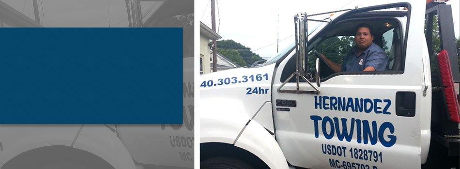 Towing | Winchester, VA | Hernandez Repair | 540-535-1105