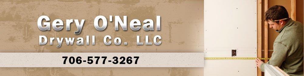 Home Improvement Services - Phenix City, AL - Gery O'Neal Drywall Co. LLC