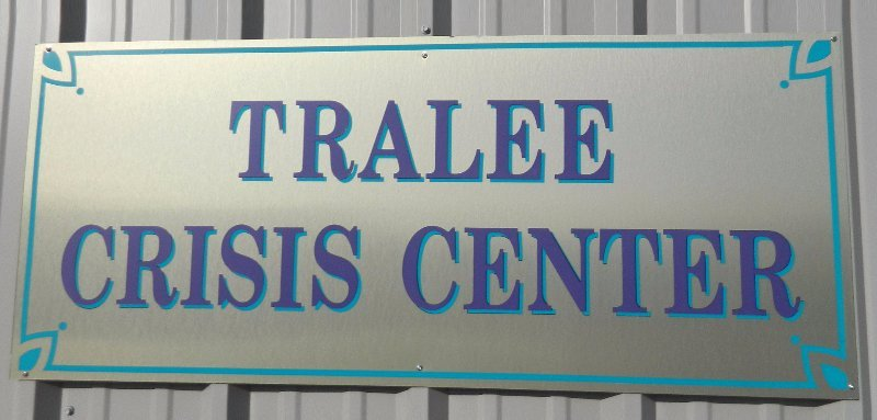 Tralee Crisis Center Sign