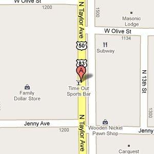 Time Out Sports Bar & Restaurant - 1319N Taylor Ave  Garden City, KS 67846