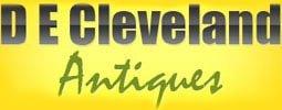 D E Cleveland Antiques - logo