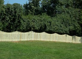 Wood Fence - Baltimore, MD  - Madison Fence Co.