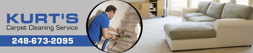 Carpet Cleaner Oakland County, MI- Kurt's Carpet Cleaning Service