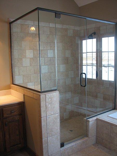 Interior Glass Mirrors And Shower Doors Frameless Shower