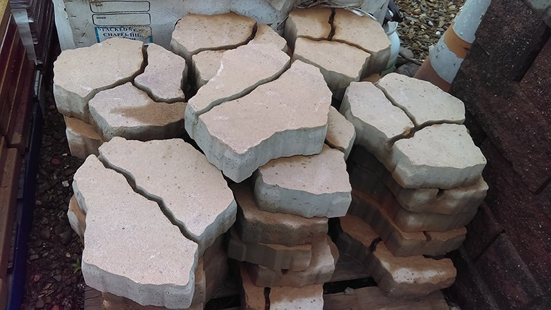 Hardscaping materials