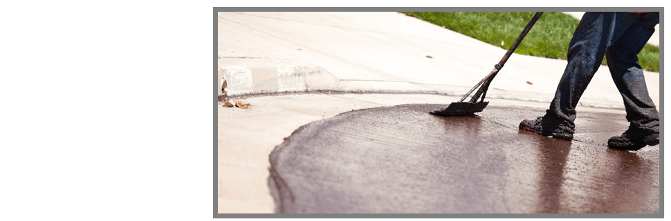 Asphalt seal coating | Pinson, AL | Campbell's Paving Concrete & Asphalt LLC | 205-281-1216