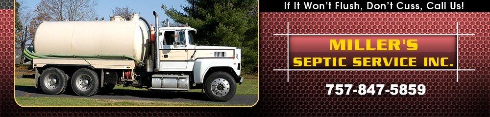 Septic Service Williamsburg, VA - Miller's Septic Service Inc.