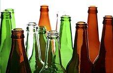 Different kinds of beer bottles