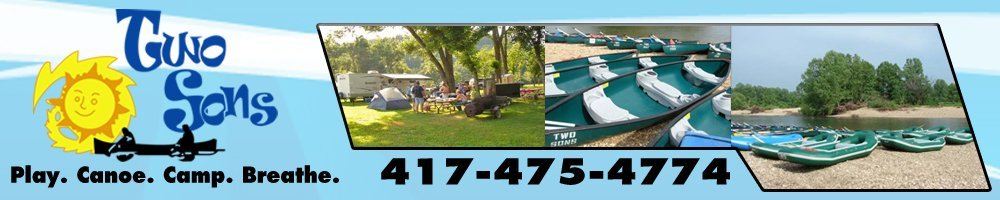 Kayaks Noel, MO - Two Sons Floats & Camping 417-475-4774