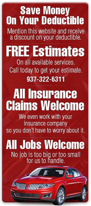 Auto Insurance Claims - Springfield, OH  - Todd Fisher's Body & Collision Repair Center, Ltd