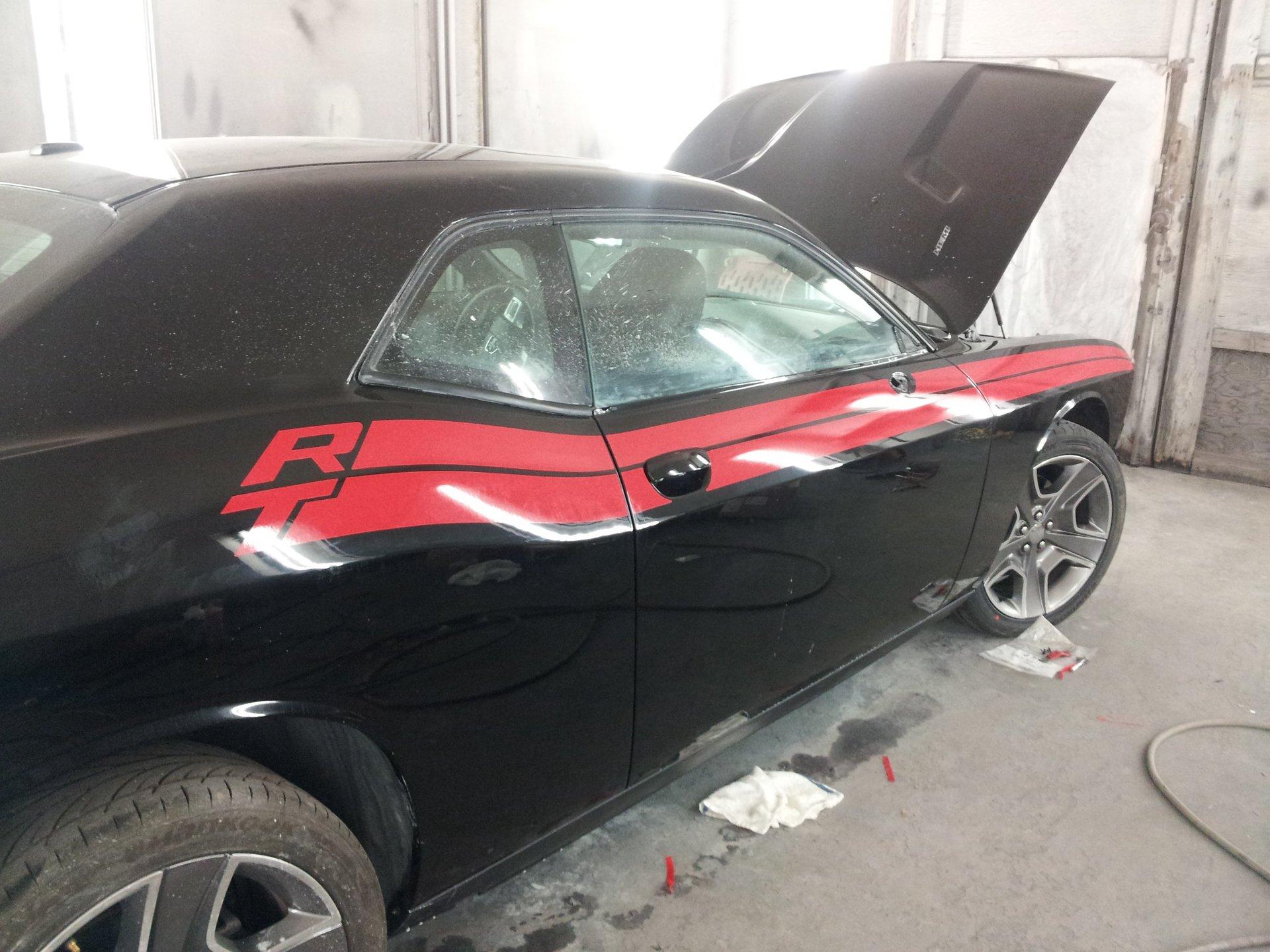 Auto body works