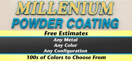 Metal Powder Coating - El Monte, CA - Millennium Powder Coating