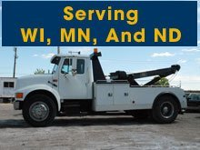 Towing - Iron, MN - Roger's Towing Service & Mobile Home Transporting - tow truck - Serving WI, MN, And ND