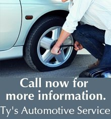 Auto Repair - St. Peter, MN - Ty's Automotive Service - Call now for more information