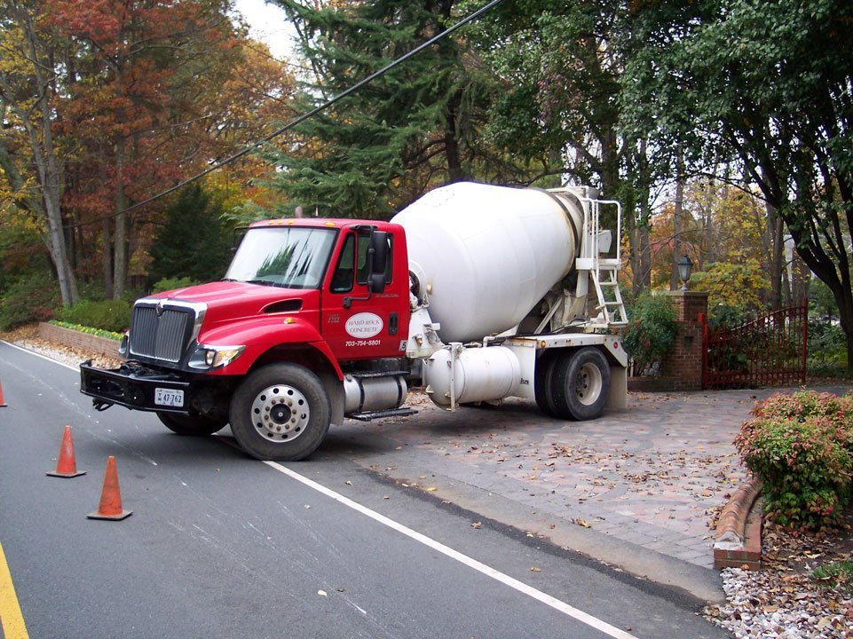 Ready-Mix Concrete truck