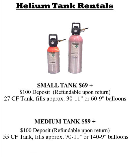 helium tanks| Long Beach, CA | All City Party   Supplies | 562-438-8700