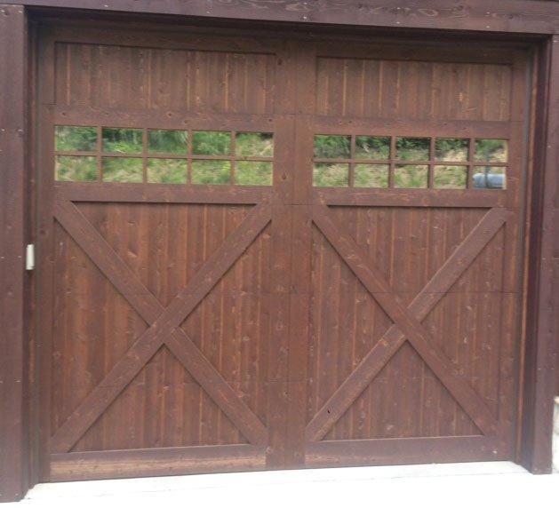 Residential Garage Door Customized Garage Door Crested Butte
