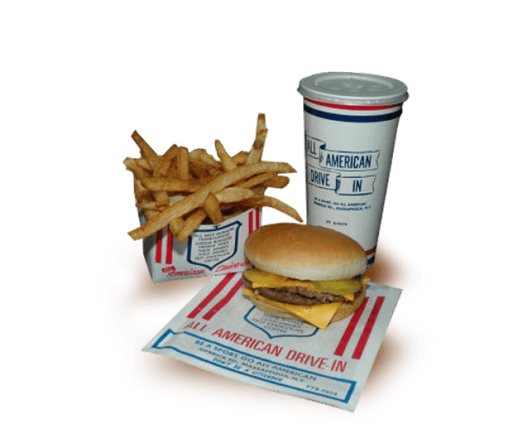 All American Hamburger Drive-In food