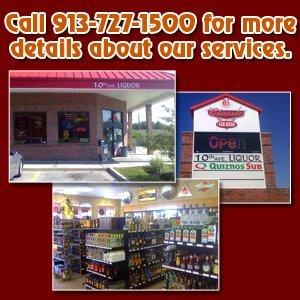 Liquor store - Leavenworth, KS - 10th Avenue Liquors - Liquor - Call 913-727-1500 for more details about our services.