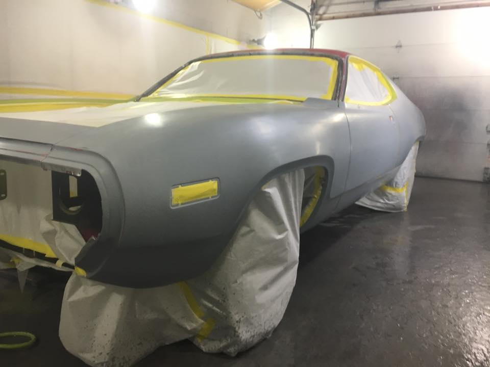 Auto body repair, painting and finishing