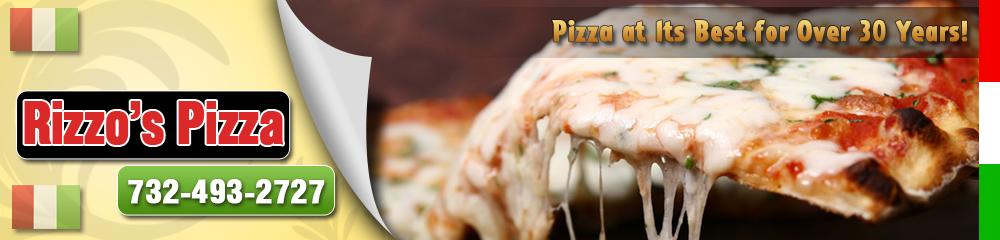 Pizza and Pasta Ocean, NJ - Rizzo's Pizza 732-493-2727