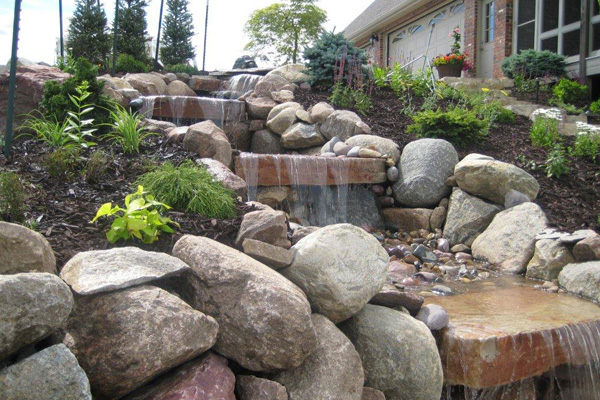 ... Rock Fountain ...