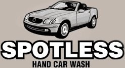 Spotless Hand Car Wash - logo