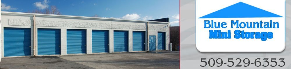 Storage Facility Walla Walla Wa Blue Mountain Mini Storage