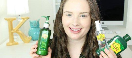 Holding shampoo