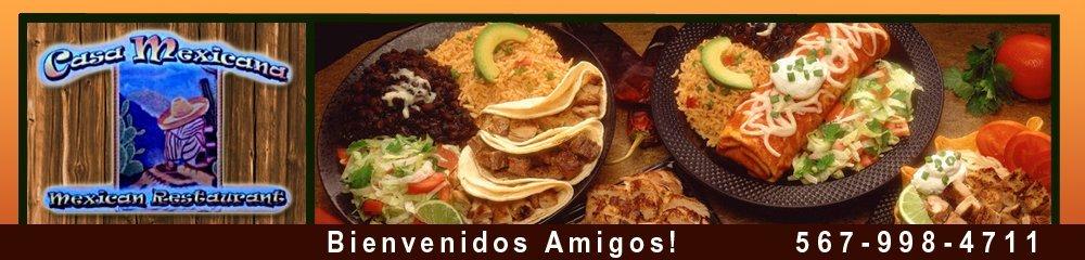 Mexican Restaurant Bellevue, OH - Casa Mexicana