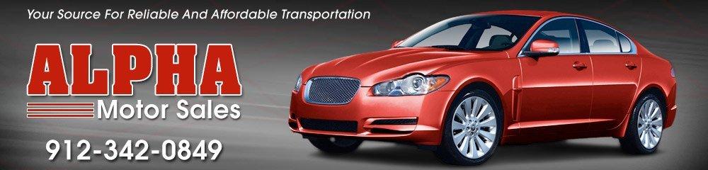 Auto Dealers - Brunswick, GA - Alpha Motor Sales