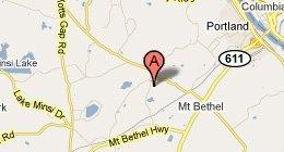 Mt Bethel Eye Care Rt. 512, Mount Bethel, PA 18343.