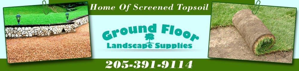 Mulch And Sod - Tuscaloosa, AL - Ground Floor Landscape Supplies